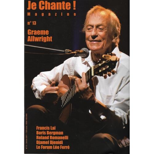Graeme  ALLWRIGHT / Je Chante