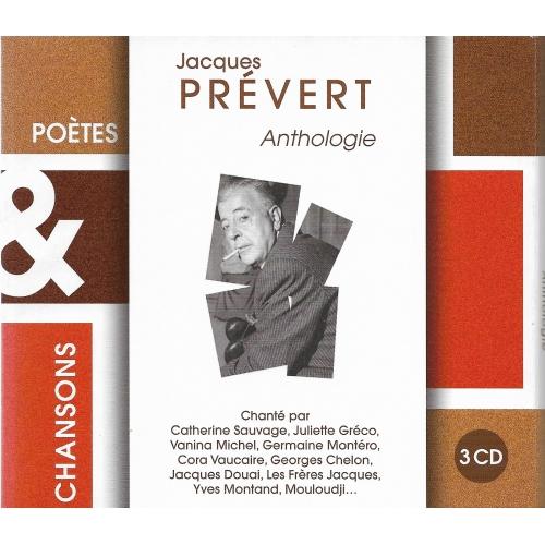 Jacques PRÉVERT / ANTHOLOGIE