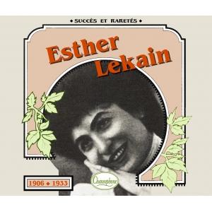 Esther LEKAIN  / 1906 - 1933