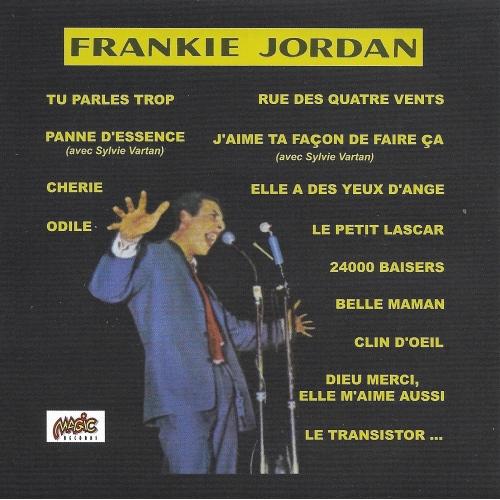 Frankie JORDAN / TU PARLES TROP
