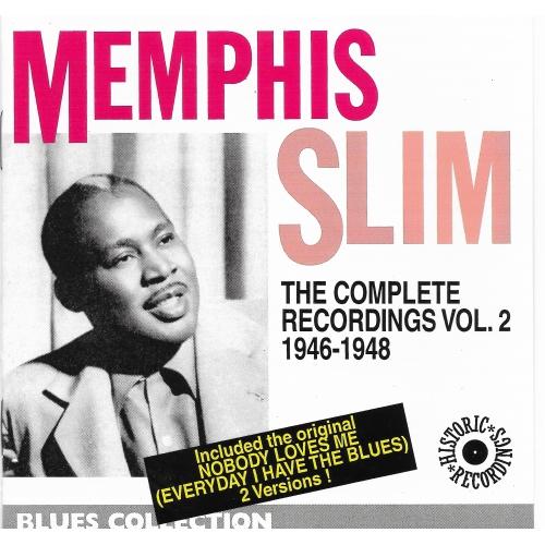 Memphis SLIM / THE COMPLETE RECORDING V2