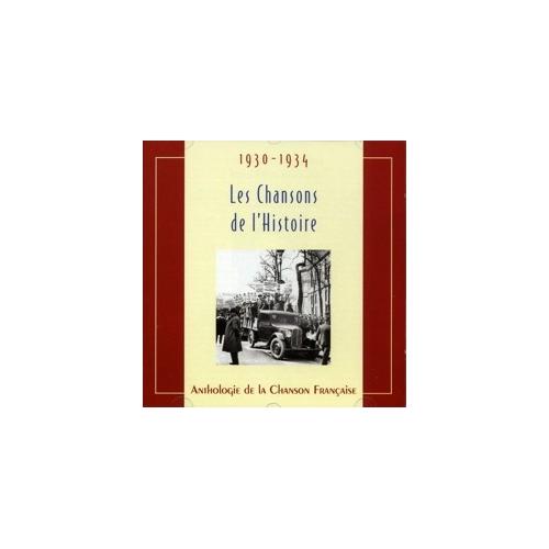 1930-1934 LES CHANSONS DE L'HISTOIRE