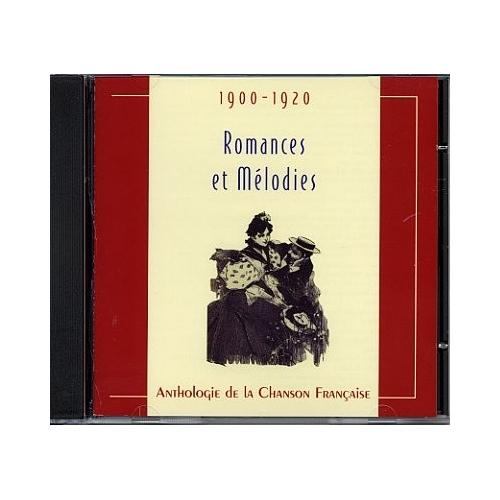LES ROMANCES ET MÉLODIES 1900-1920