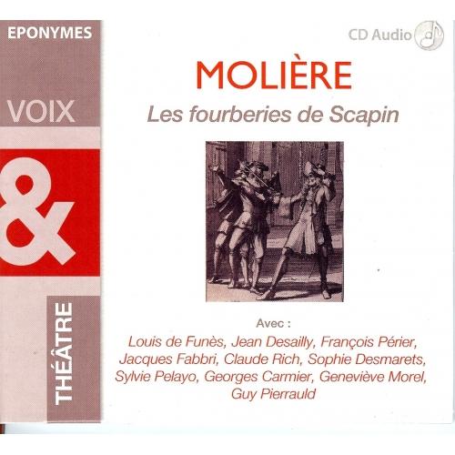 MOLIÈRE / LES FOURBERIES DE SCAPIN