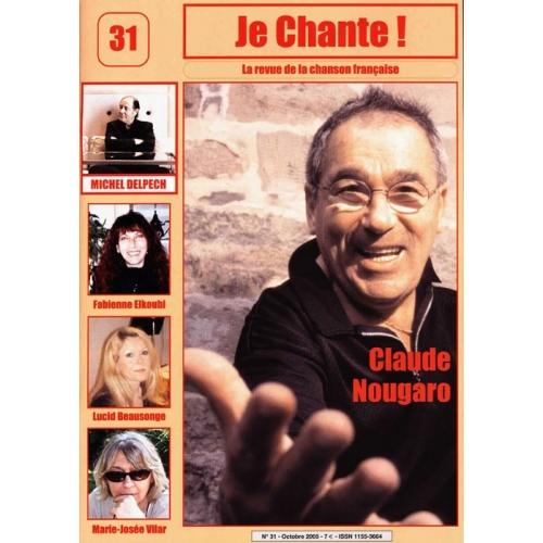 Claude NOUGARO / Je Chante
