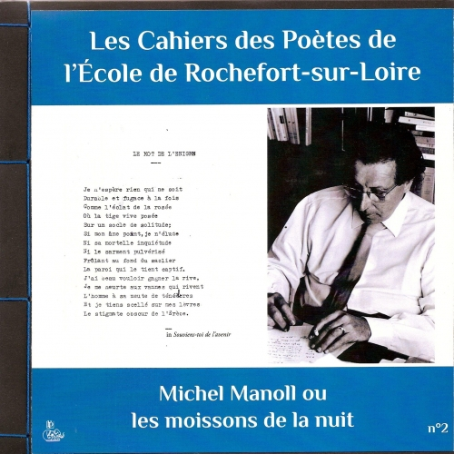 CAHIER DES POÈTES N°2 / Michel MANOLL
