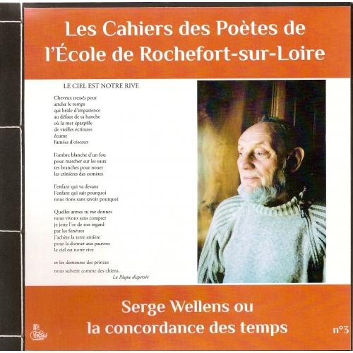 CAHIER DES POÈTES N°3 / Serge WELLENS