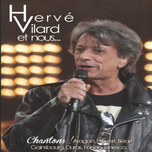 Hervé VILARD  / CD / CHANTONS ARAGON, PRÉVERT