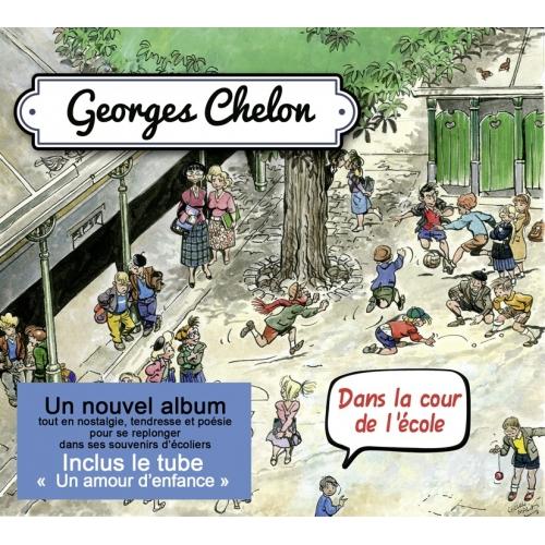 Georges CHELON / DANS LA COUR DE L'ÉCOLE