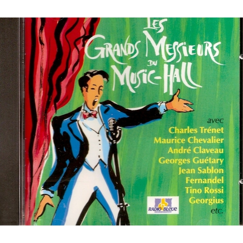 LES GRANDS MESSIEURS DU MUSIC HALL VOL 1