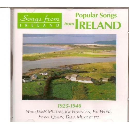 IRLANDE / CHANSONS POPULAIRES