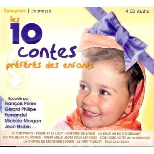 LES 10 CONTES PRÉFÉRÉS DES ENFANTS