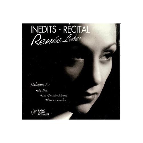 Renée LEBAS / RÉCITAL INÉDIT