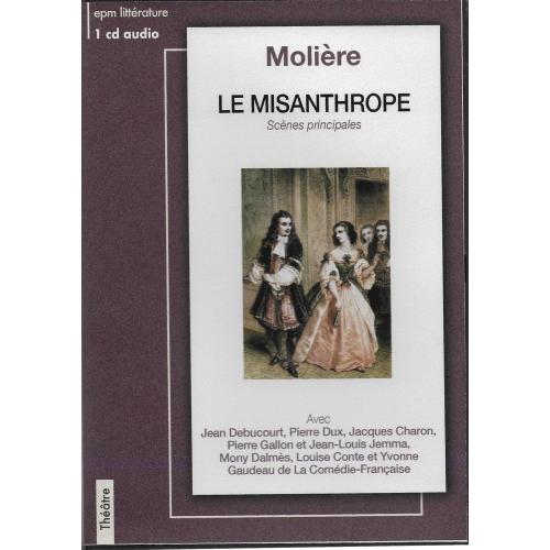 MOLIÈRE / LE MISANTHROPE
