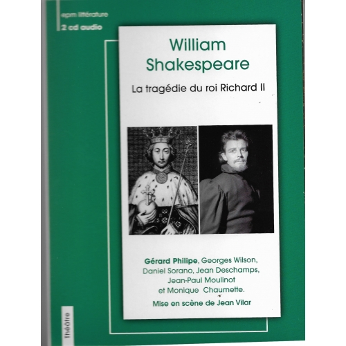 William SHAKESPEARE / RICHARD II