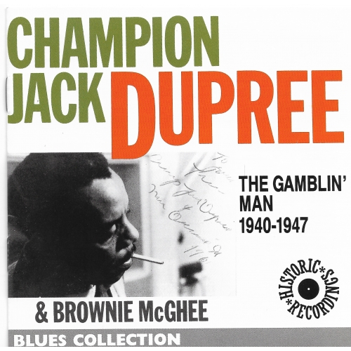 CHAMPION JACK DUPREE / THE GAMBLIN' MAN