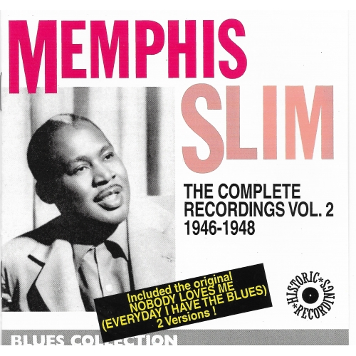 Memphis SLIM / THE COMPLETE RECORDINGS V2