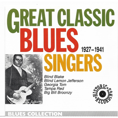 GREAT CLASSIC BLUES SINGERS