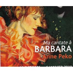 Anne PEKO / CANTATE À BARBARA