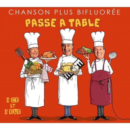 CHANSON PLUS BIFLUORÉ / PASSE À TABLE
