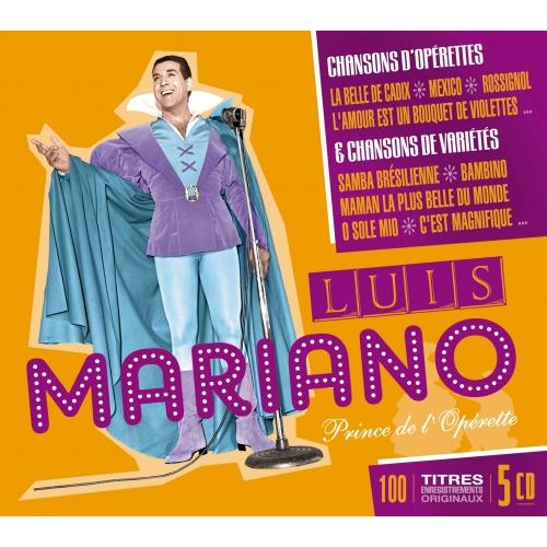 Luis MARIANO / 100 TITRES