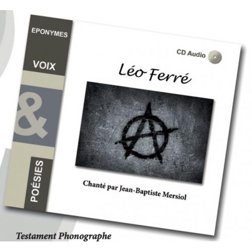 Léo FERRE / TESTAMENT PHONOGRAPHE