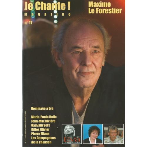 Maxime FORESTIER / Je Chante