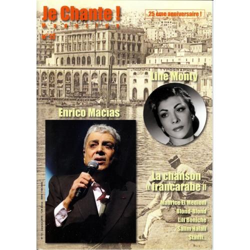 JE CHANTE-12 / Enrico MACIAS