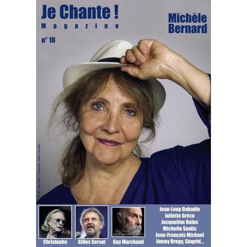 JE CHANTE-18 /Michèle BERNARD