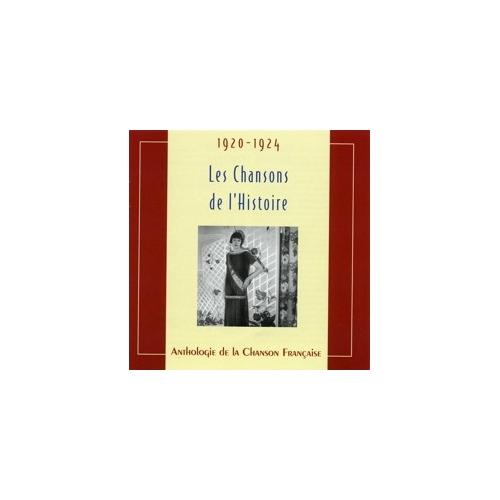 1920-1924  LES CHANSONS DE L'HISTOIRE