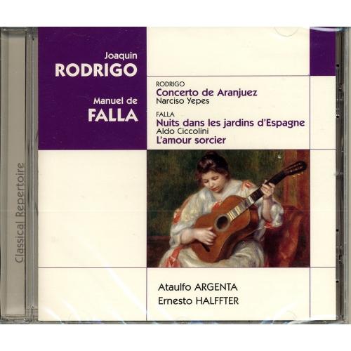 JOAQUIN RODRIGO / MANUEL DE FALLA