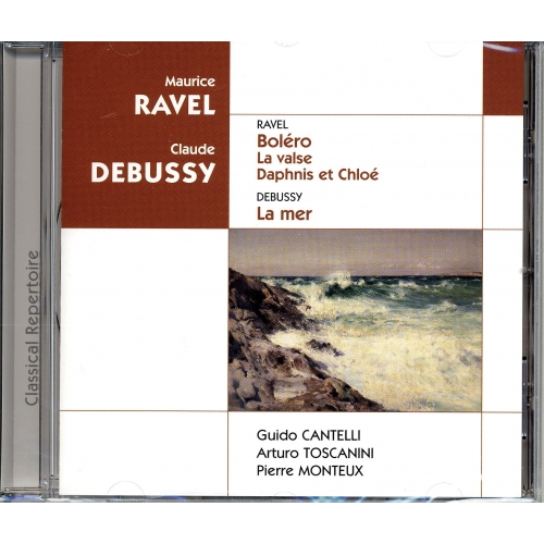 CLAUDE DEBUSSY / MAURICE RAVEL
