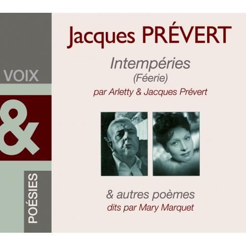 Jacques PRÉVERT / INTEMPÉRIES