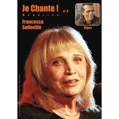Francesca SOLLEVILLE / Je Chante