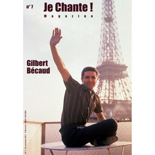 Gilbert BÉCAUD / Je Chante