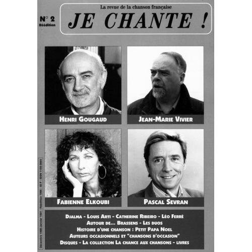 Henri GOUGAUD / Je Chante