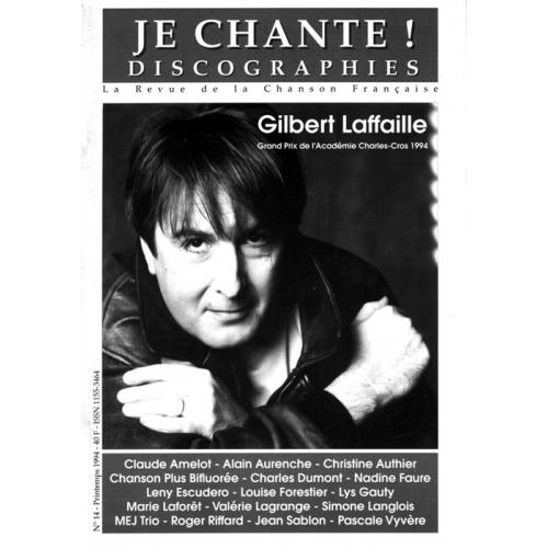 Gilbert LAFFAILLE / Je Chante