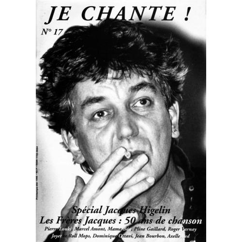 Jacques HIGELIN / Je Chante