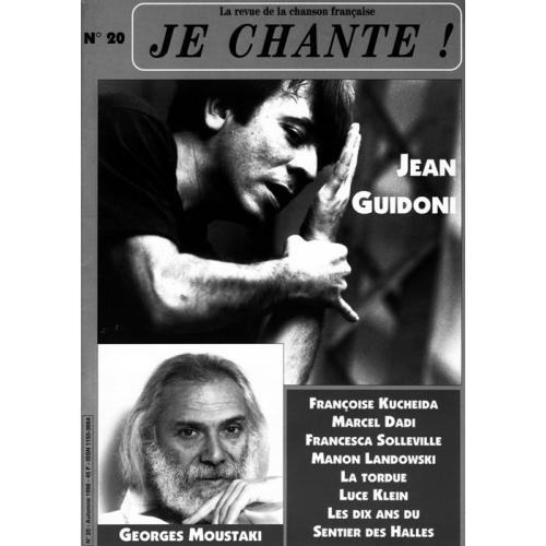 Jean GUIDONI / Je Chante