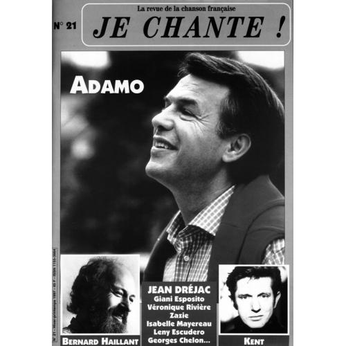 ADAMO / Je Chante
