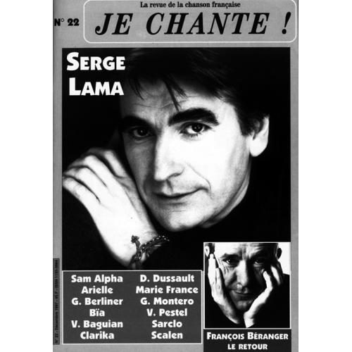 Serge LAMA / Je Chante