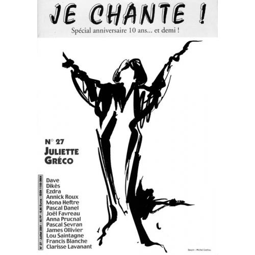 Juliette GRÉCO / Je Chante