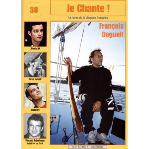 François DEGUELT / Je Chante
